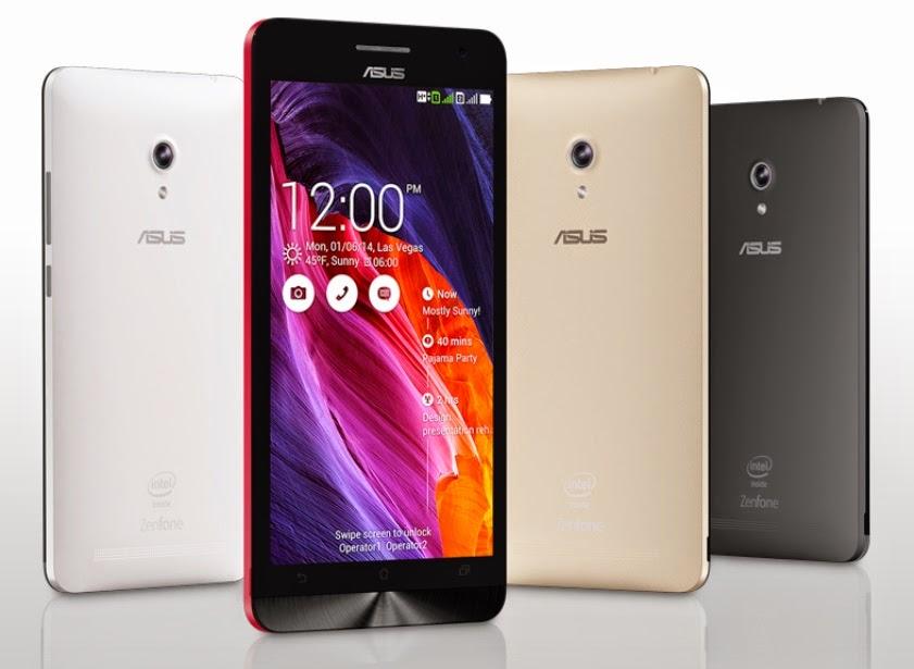 Asus Zenfone Smartphone Android terbaik 6