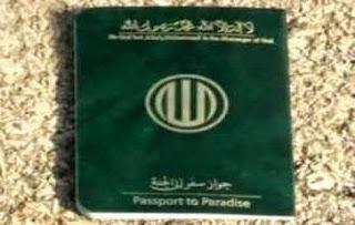 Stempel Passport Surga Syiah Buatan Iran