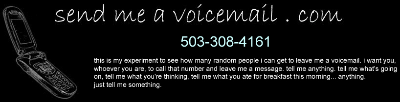 Send Me a Voicemail