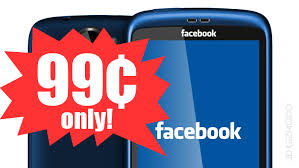 facebook available at 99 cent