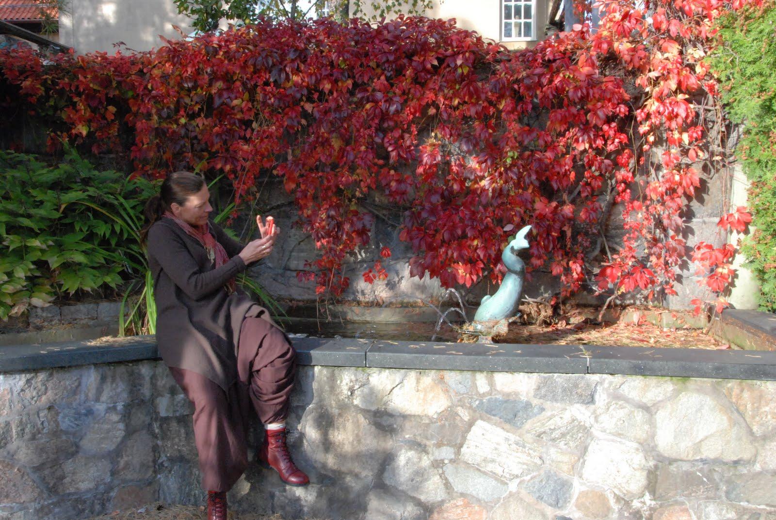 Den passionerade trädgårdsturisten: millesgården en eftermiddag...