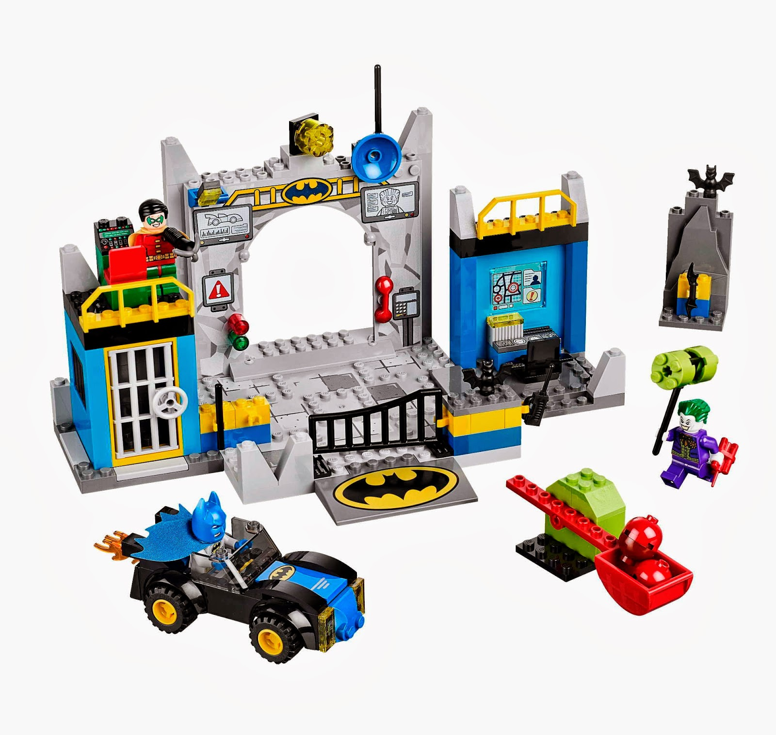 Lego Batman Toys : Lego gossip batman™ defend the batcave