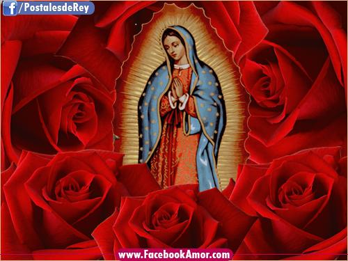 Virgen de Guadalupe de México Imagenes Bonitas para Facebook Amor ...