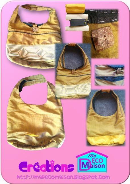 Réparer des tissus déchirés sac