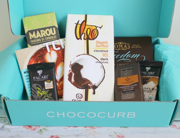 Chococurb Premium Chocolate Box discovery service
