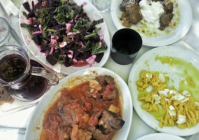 cibo greco capra creta