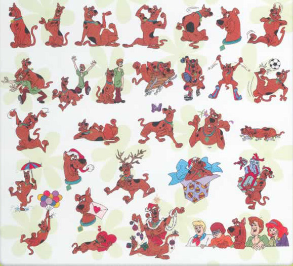 Scooby Doo Embroidery Designs Collection Free Machine Embroidery