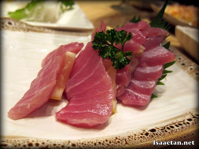 Chu Toro Sashimi - RM29.80