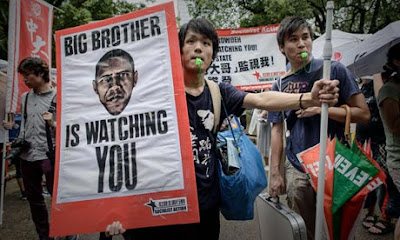 Stop spying on me Big Brother Obama!