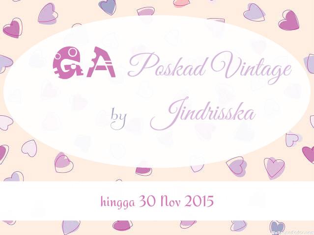 Giveaway Poskad Vintage (Bahasa Jerman) by Jindrisska