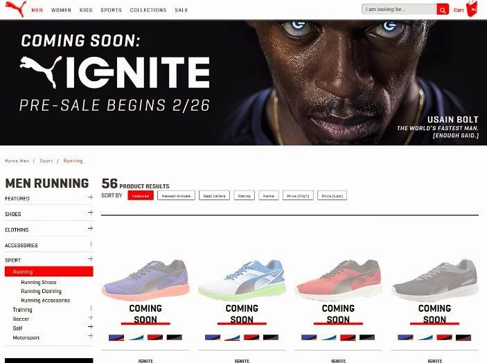 Puma Ignite Running Sneaker