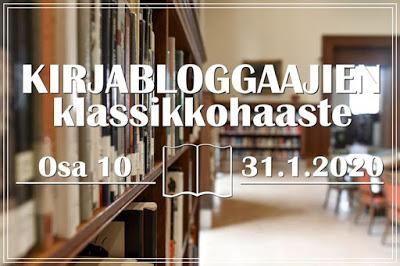 Kirjabloggaajien klassikkohaaste 10