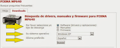 follow the procedures to download the driver