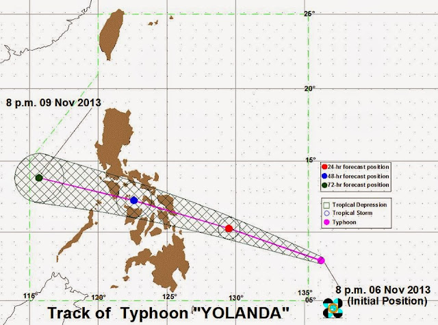 Typhoon Yolanda update November 7, 2013