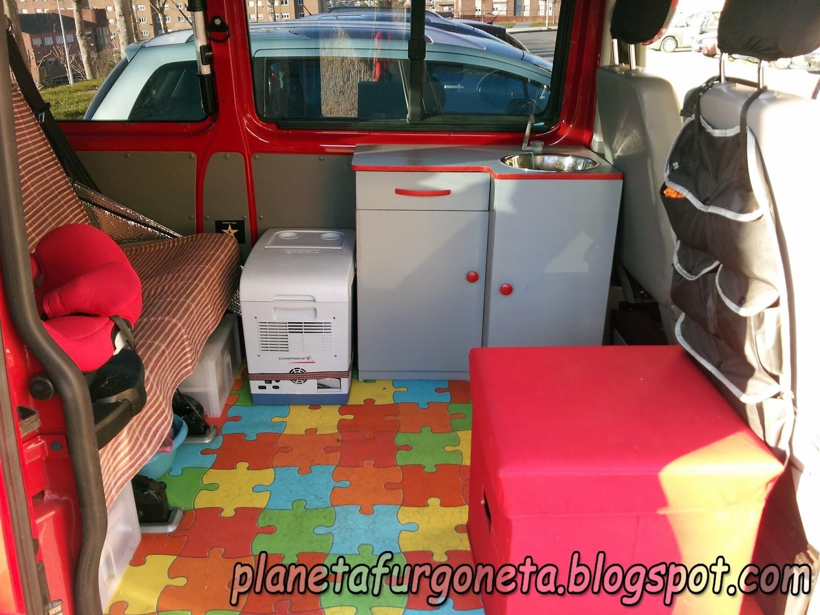 Planeta furgoneta camperizaci n completa en volkswagen t 5 for Cocinar 12v