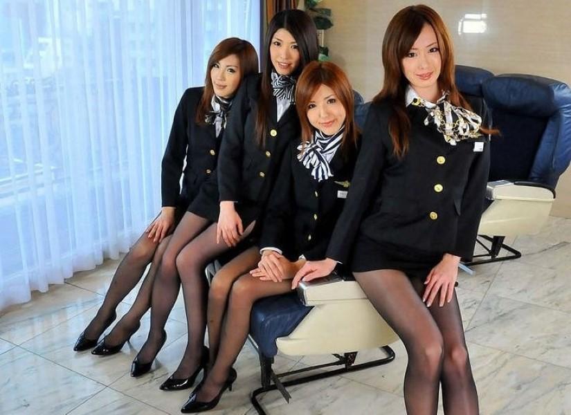 flight attendant hookups