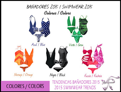 Swimwear Colors 2015