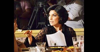 Ivete Sangalo aparece de Maria Machadão em bastidores