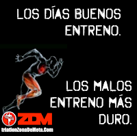 Frases de motivación deportiva, motivacionales para el triatlon, gym, motivar equipo alcanzar la Zona De Meta ZDM, éxito personal
