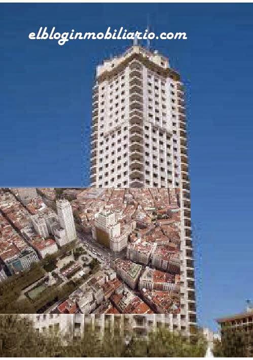Torre Madrid Plaza de España elbloginmobiliario.com
