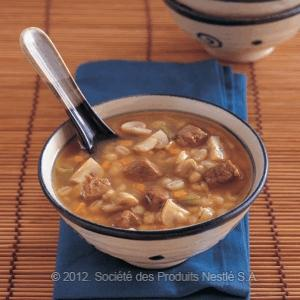 Barley With Beef And Mushroom Soup Recipe