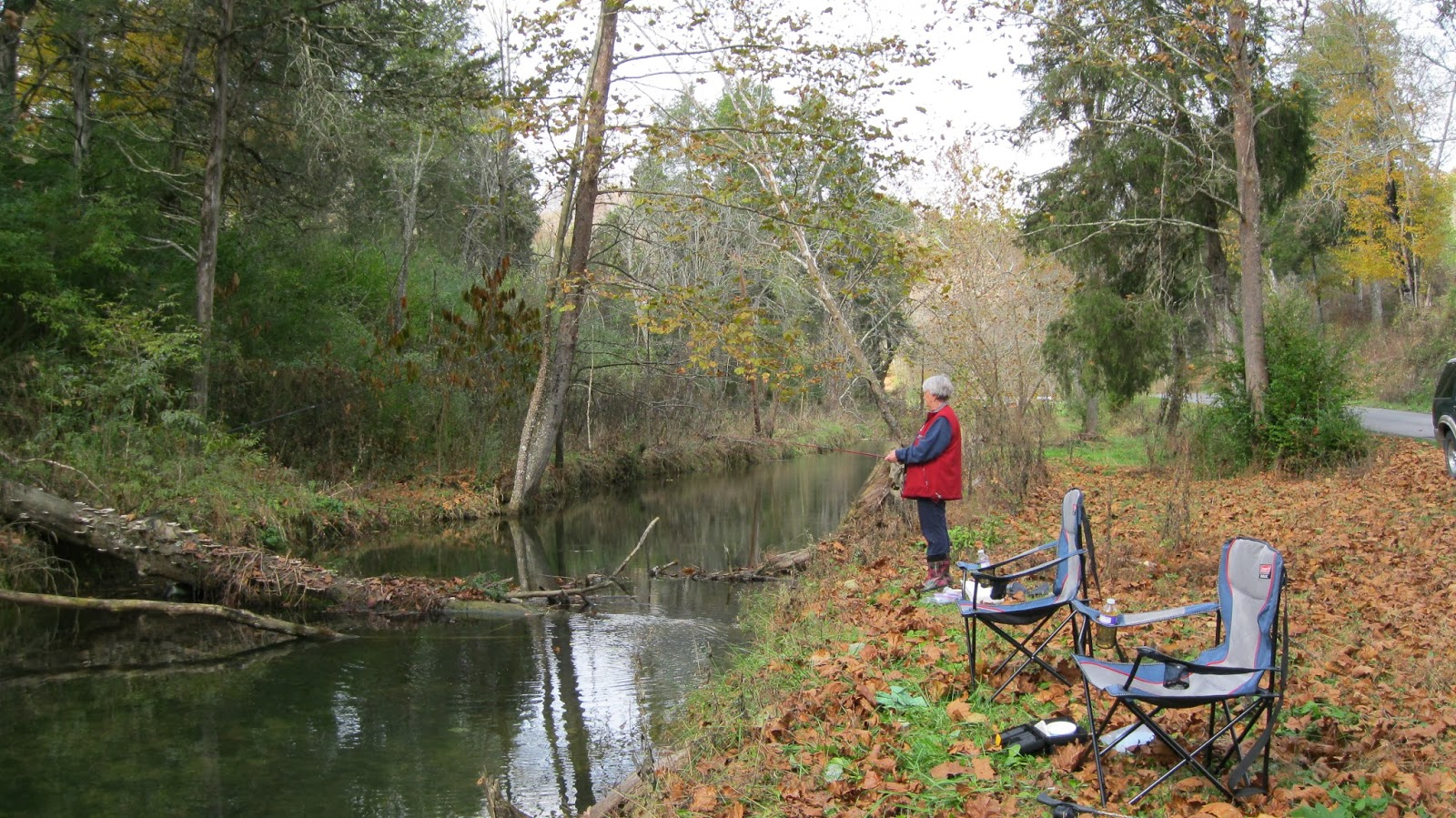 lee county virginia: stop # 29: fishing in trout-stocked martins