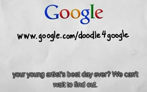Doodle 4 Google 2013 is Open For Submissions
