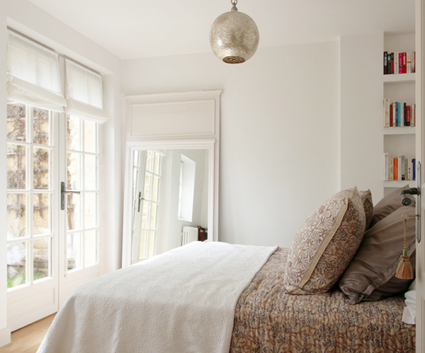 serene bedroom // paint color: Farrow and Ball 'Wimborne White'