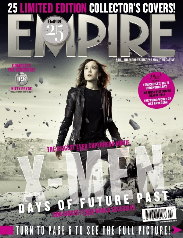 Empire covers X-Men: Days of Future Past: Kitty Pride