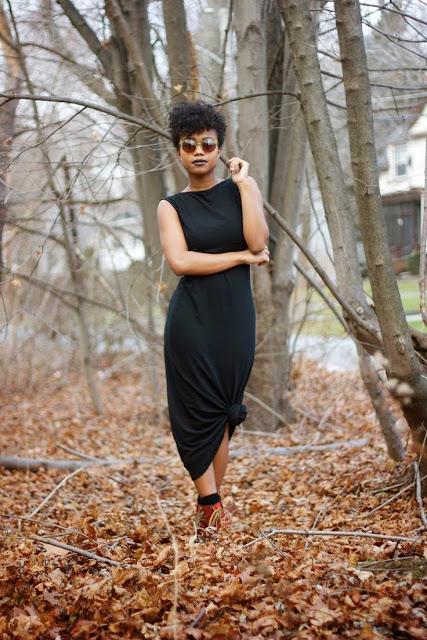Moda - Maxissaia e maxivestido com nós - tendências verão 2015