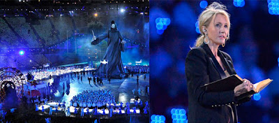 J. K. Rowling en la ceremonia de los Juegos de 2012