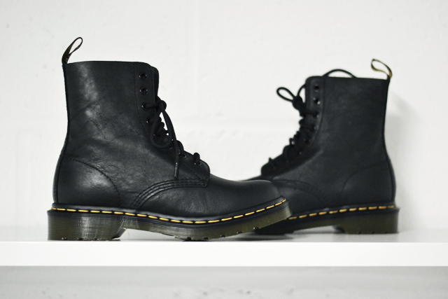 Turn it inside out: Dr martens boots