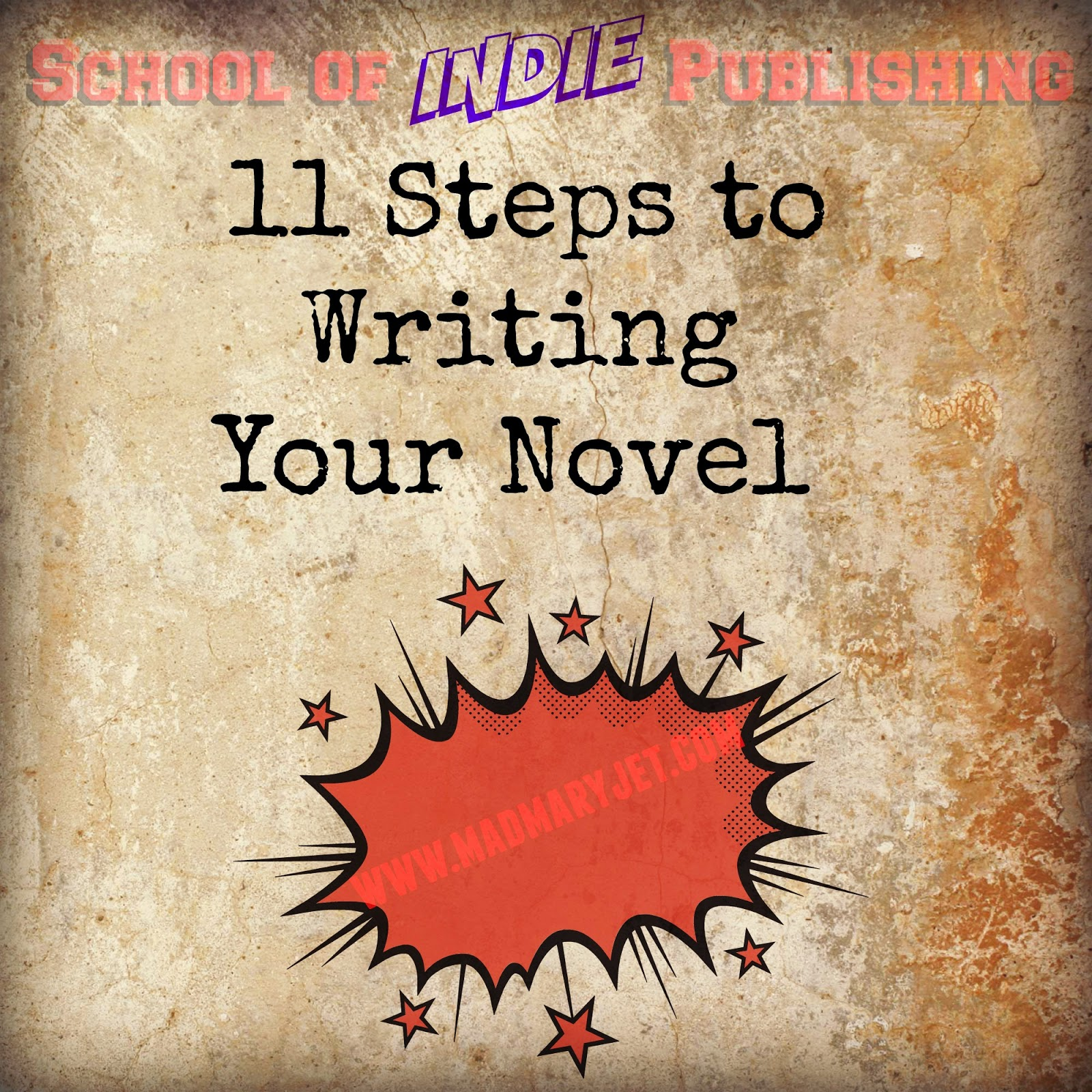 Steps for writing a book