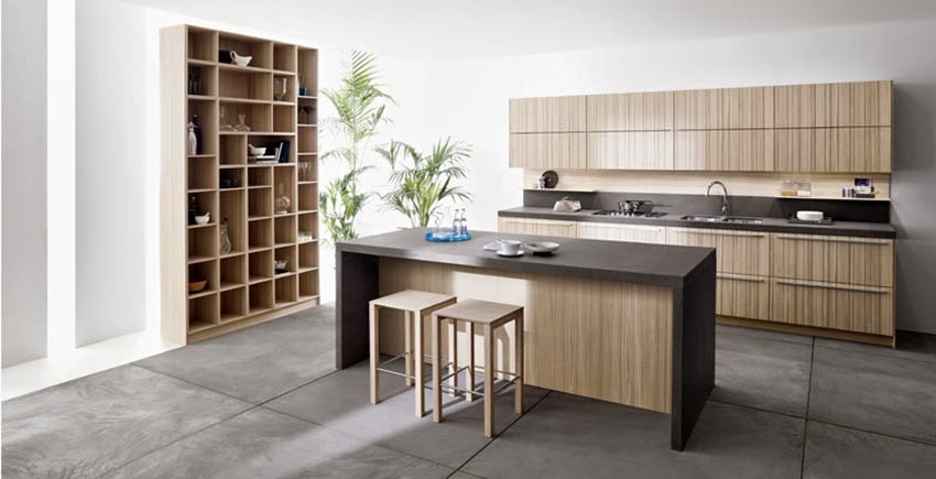 modern minimalist kitchen decoration