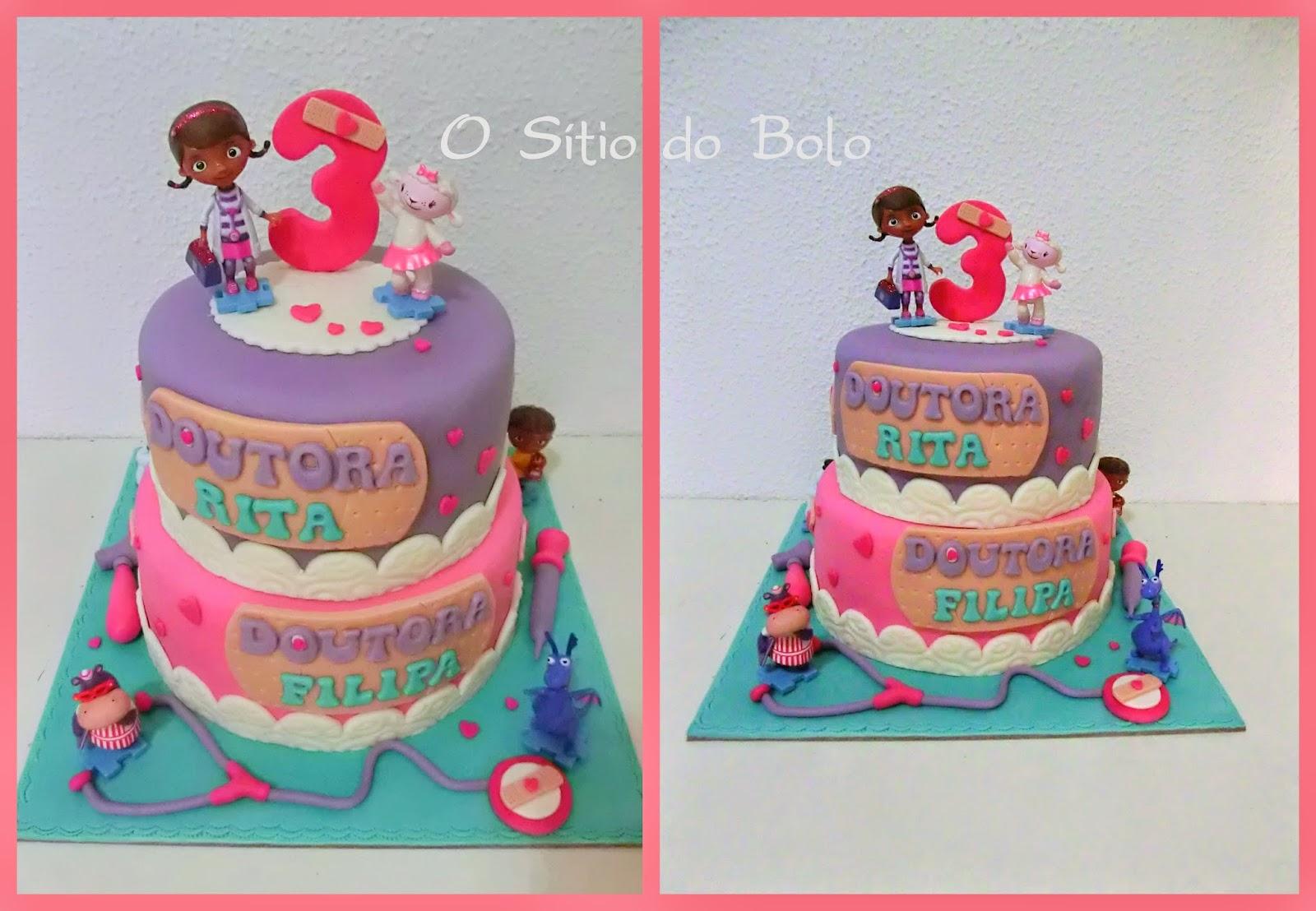Amado O sitio do bolo: Outra versão de um bolo Doutora Brinquedos JY86