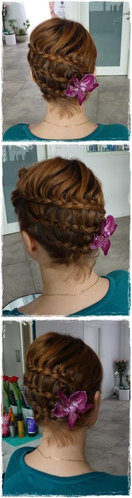 fryzura ślubna 60