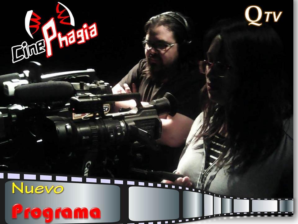"""Pronto te sorprenderás con """"CinePhagia""""  Nuevo Programa, conducido por Marcelo Fuen"""