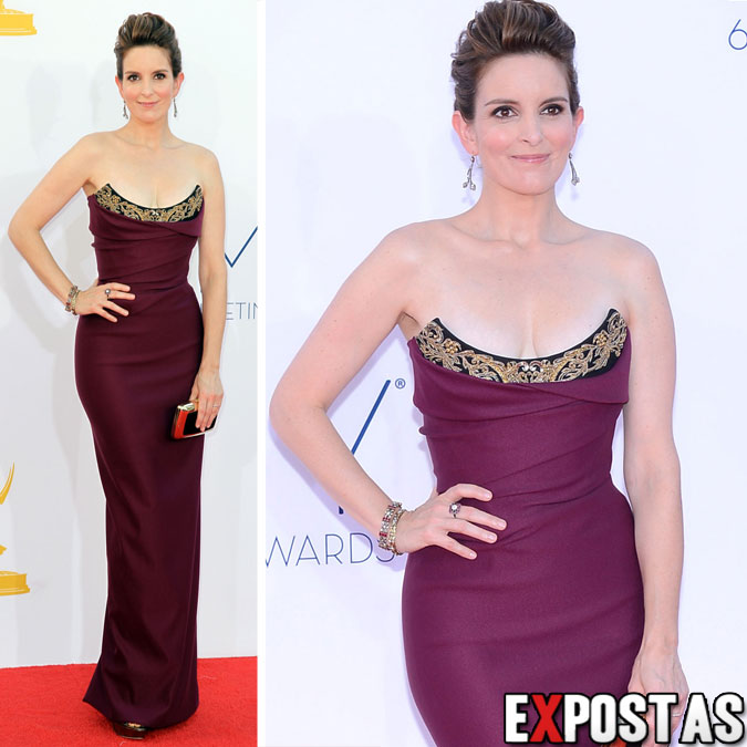 Tina Fey: 64th Primetime Emmy Awards - Nokia Theatre em Los Angeles - 23 de Setembro de 2012