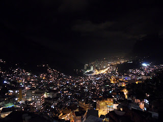 Rocinha by night