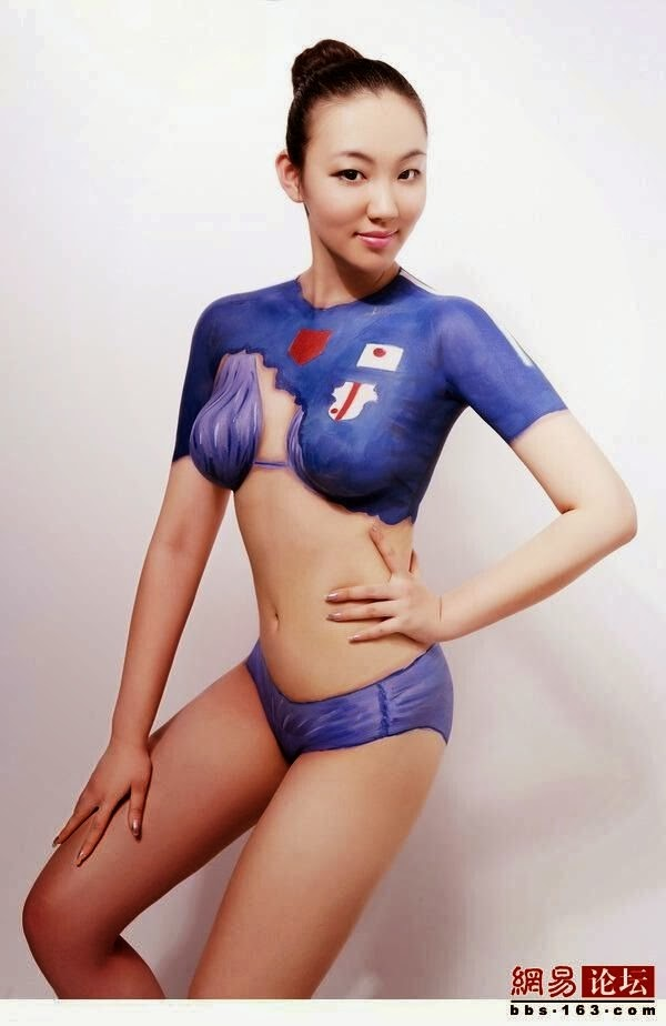 Keep the Swedish world cup body paint girls confirm