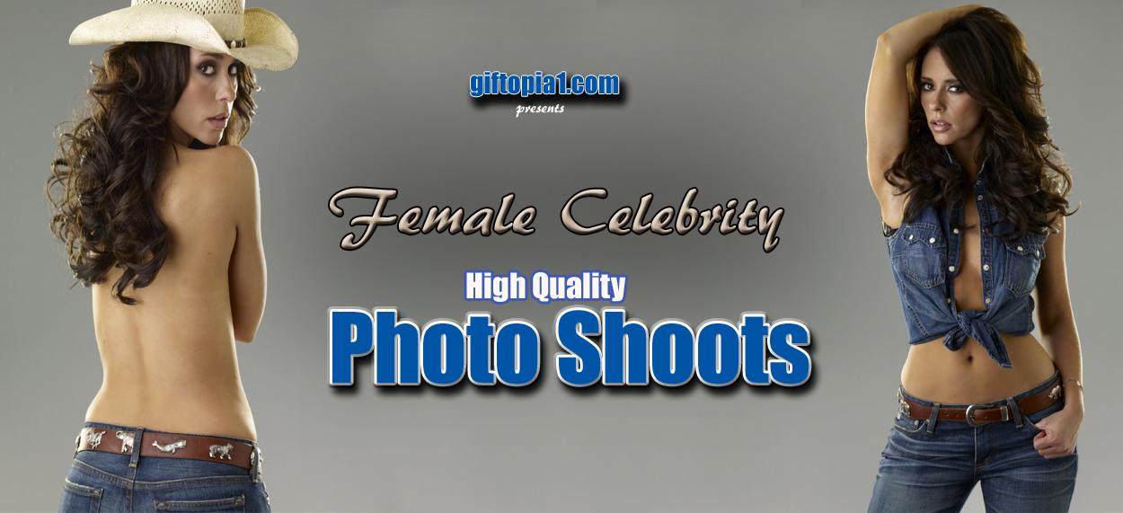 Celebrity Photo Shoots