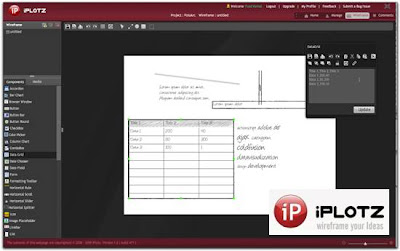 iPlotz 15 useful wireframing, prototyping and Mockups tools