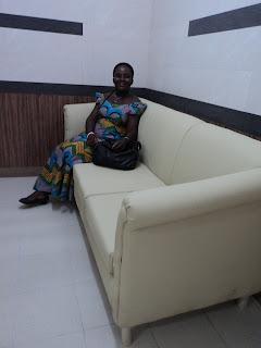 Emelia @ Balme Library Ghana/Korea Information Access Centre