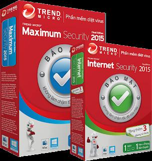 Bán phần mềm diệt Virus Trend Micro