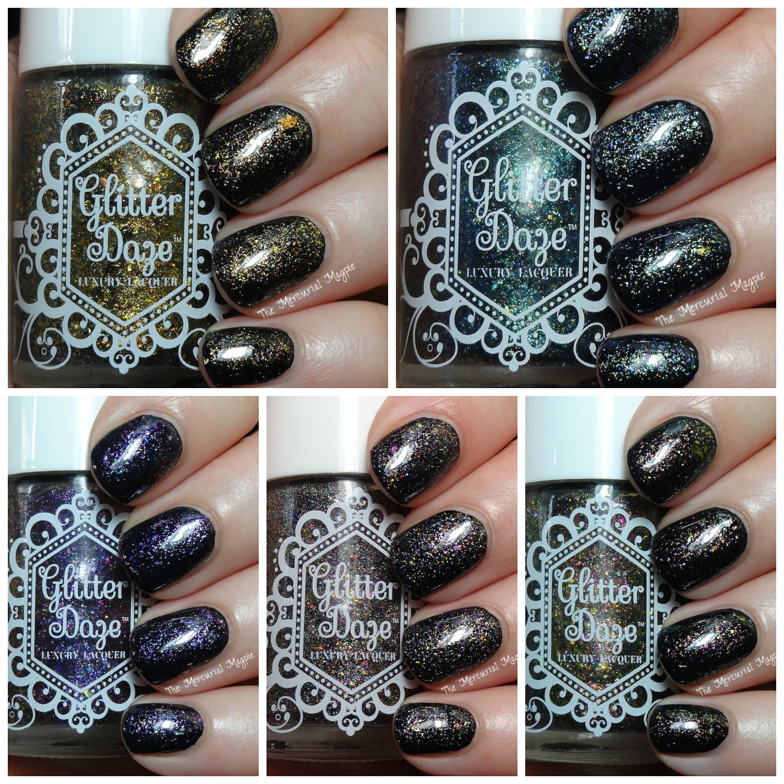 Glitterdaze The Mythical Collection Swatches & Review