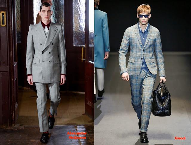 Tendencia otoño_invierno 2013-14 tejido Príncipe de Gales: Alexander McQueen y Gucci