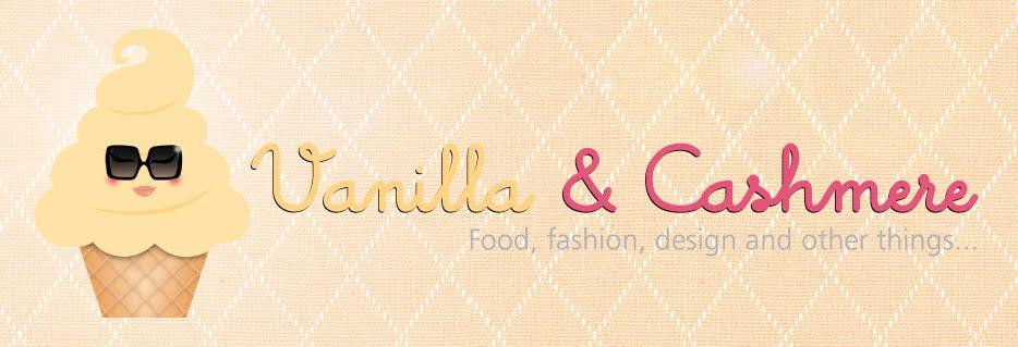 Vanilla & Cashmere