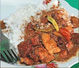 resep msakan tradisional indonesia brongkos istimewa dengan irisan daging  dan rasa yang nikmat