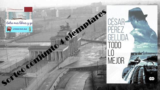 """SORTEO CONJUNTO DE """"TODO LO MEJOR"""" (CÉSAR PÉREZ GELLIDA)"""