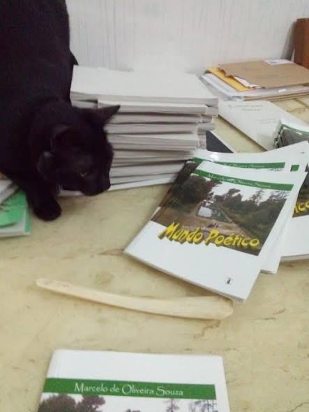Nosso livro: Mundo Poético Pedidos: marceloosouzasom@hotmail.com